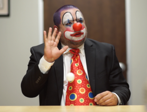 'The Encouragement Clown' – Short Film Shoot