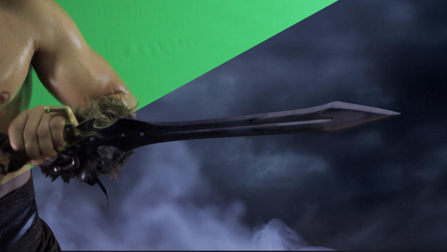 Green Screen, Savage: The Shard of Gosen